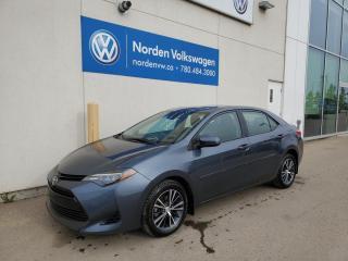 Used 2018 Toyota Corolla LE CVT - SUNROOF / HTD SEATS / BACKUP CAM / BLUETOOTH for sale in Edmonton, AB