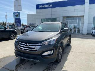 Used 2013 Hyundai Santa Fe PREMIUM/HEATEDSTEERINGANDSEATS/POWERSEAT/DUALCLIMATE for sale in Edmonton, AB