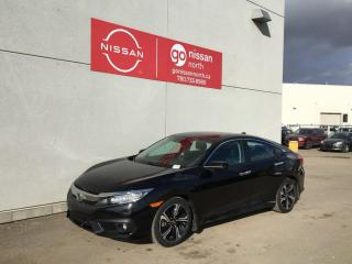 Used 2018 Honda Civic Sedan Touring / ROOF / TOUCH SCREEN / SMART KEY for sale in Edmonton, AB