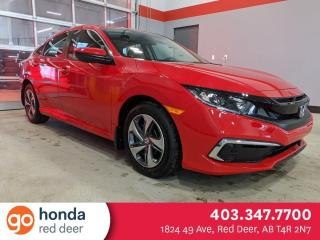 New 2021 Honda Civic SEDAN LX for sale in Red Deer, AB