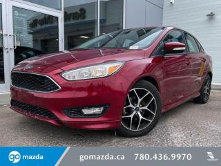 Used 2015 Ford Focus SE - CLOTH, HEATED SEATS, SUNROOF, BACK UP, MANUAL AND MORE for sale in Edmonton, AB