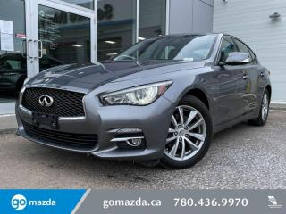 Used 2017 Infiniti Q50 SPORT - 3.0T, LEATHER, SUNROOF, NAV, DUAL SCREEN, AND MUCH MORE for sale in Edmonton, AB
