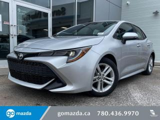 Used 2019 Toyota Corolla Hatchback LE - AUTO, HEATED SEATS, BACK UP, BLUETOOTH for sale in Edmonton, AB