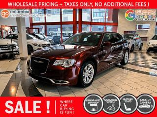 Used 2019 Chrysler 300 Touring-L - Nav / Pano Sunroof / Leather / No Dealer Fees for sale in Richmond, BC