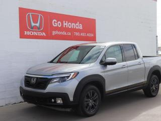 Used 2019 Honda Ridgeline Sport, AWD, NO ACCIDENTS, LOW KMS, ONE OWNER! for sale in Edmonton, AB