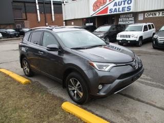 Used 2016 Toyota RAV4 XLE ~ AWD ~ REAR CAM. ~ LOW KM ~ ACCIDENT FREE for sale in Toronto, ON