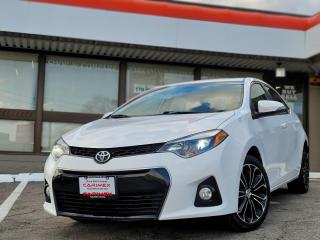 Used 2016 Toyota Corolla Softex Leather | Sunroof | NAVI | Alloys for sale in Waterloo, ON