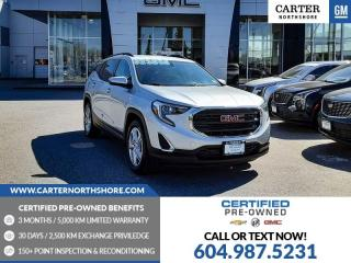 Used 2018 GMC Terrain SLE PWR DRIVER SEATS - HEATED SEATS - ROOF RACK for sale in North Vancouver, BC