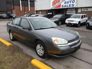 Used 2005 Chevrolet Malibu LS ~ SUNROOF ~ ALLOYS ~ REMOTE STARTER ~ LOW KM for sale in Toronto, ON