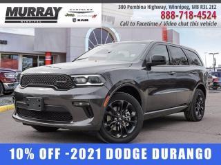 New 2021 Dodge Durango SXT AWD for sale in Winnipeg, MB