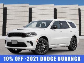 New 2021 Dodge Durango GT AWD for sale in Winnipeg, MB