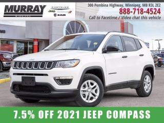 New 2021 Jeep Compass SPORT FWD for sale in Winnipeg, MB