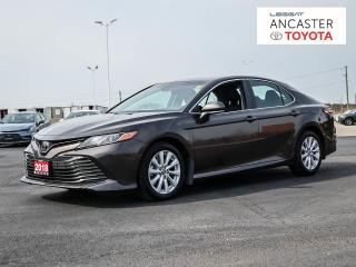 Used 2018 Toyota Camry LE - ULTRA LOW KMS | Toyota Safety Sense | Upgrade for sale in Ancaster, ON