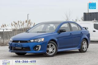 Used 2017 Mitsubishi Lancer SE AWD Anniversary edition|Sunroof|Camera| for sale in Bolton, ON