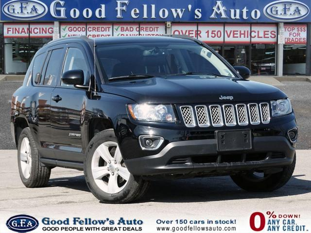 2017 Jeep Compass HIGH ALTITUDE EDITION, 4WD, SUNROOF, LEATHER SEATS
