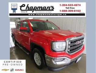 Used 2017 GMC Sierra 1500 SLE Remote Start, Heated Seats, Rear Vision Camera for sale in Killarney, MB