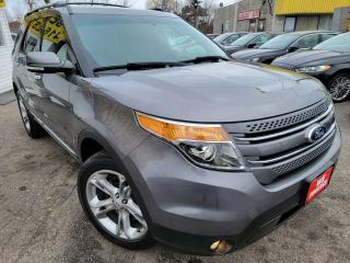 Used 2013 Ford Explorer Limited/NO ACCIDENT/LEATHER/NAVI/ALLOY/B.CAM/7SEAT for sale in Scarborough, ON