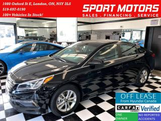 Used 2017 Hyundai Sonata GL+Camera+Bluetooth+Heated Seats+AC+ACCIDENT FREE for sale in London, ON