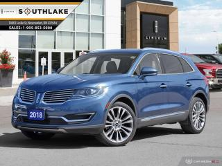 Used 2018 Lincoln MKX Reserve for sale in Newmarket, ON