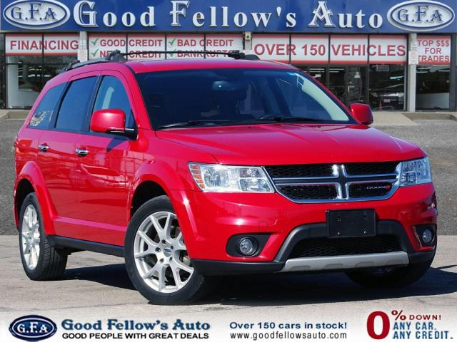 2017 Dodge Journey GT MODEL, AWD, LEATHER SEATS, POWER SEAT, 7 PASS