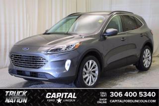 New 2021 Ford Escape Titanium Hybrid for sale in Regina, SK