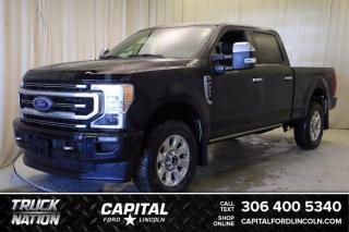New 2021 Ford F-350 Gas Platinum for sale in Regina, SK