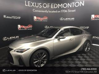 New 2021 Lexus IS 350 F Sport Series 2 for sale in Edmonton, AB