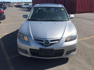 Used 2008 Mazda MAZDA3 GT,HEATED SEATS,SUNROOF,LOW KMS,CERTIFIED,LOADED for sale in Mississauga, ON