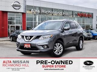 Used 2015 Nissan Rogue SV AWD   Rear CAM   Push Strt   Pano   HTD F.Seats for sale in Richmond Hill, ON