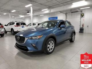 Used 2018 Mazda CX-3 GX - CAMERA RECUL + JAMAIS ACCIDENTE !!! for sale in Saint-Eustache, QC