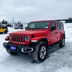 New 2021 Jeep Wrangler Unlimited Sahara for sale in Kapuskasing, ON