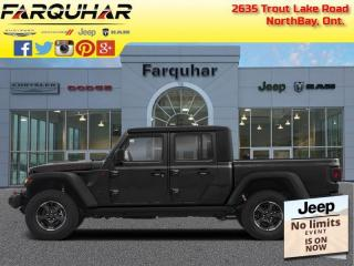 New 2021 Jeep Gladiator Rubicon for sale in North Bay, ON