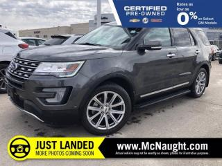 Used 2017 Ford Explorer Limited | Heated Seats | Navigation | for sale in Winnipeg, MB