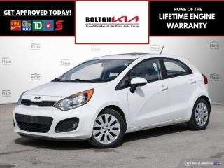 Used 2013 Kia Rio EX | LOCAL TRADE | LOW KM for sale in Bolton, ON