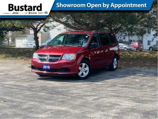 Used 2016 Dodge Grand Caravan 4dr Wgn CVP | Leather | Rear Climate | Bluetooth for sale in Waterloo, ON