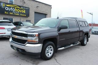 Used 2016 Chevrolet Silverado 1500 4WD/4x4/V8/EXTENDED CAB/6-SPEED/TRACTION CONTROL for sale in Newmarket, ON