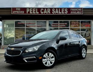 Used 2016 Chevrolet Cruze Limited 1LT|PRICE.MATCH.POLICY|PRECERTIFIED|CLEANCARFAX| for sale in Mississauga, ON
