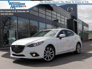 Used 2016 Mazda MAZDA3 GT  - Navigation -  Sunroof for sale in Toronto, ON