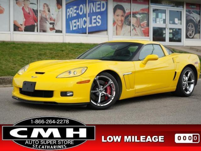 2011 Chevrolet Corvette Grand Sport  3LT HUD LEATH HTD-SEATS