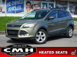 Used 2014 Ford Escape SE  CAM PARK-SENS LEATH P/SEAT HTD-SEATS 17-AL for sale in St. Catharines, ON