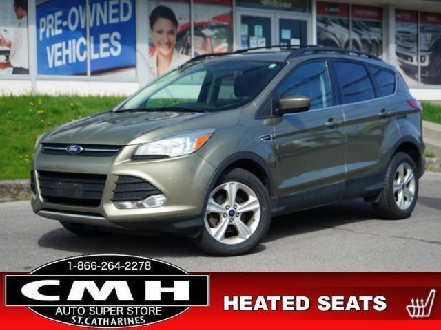 2014 Ford Escape SE  CAM PARK-SENS LEATH P/SEAT HTD-SEATS 17-AL