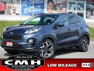 Used 2020 Kia Sportage EX  AWD CAM LANE-KEEP ROOF HTD-S/W 18-AL for sale in St. Catharines, ON