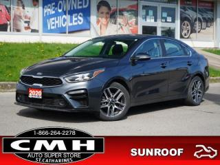 Used 2020 Kia Forte EX+ IVT  CAM ROOF LANE-DEP HTD-S/W 17-AL for sale in St. Catharines, ON