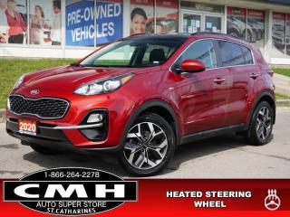 Used 2020 Kia Sportage EX  CAM LANE-DEP ROOF P/SEAT HTD-S/W 18-AL for sale in St. Catharines, ON