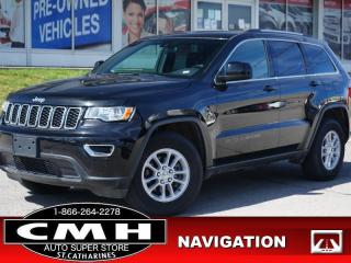 Used 2020 Jeep Grand Cherokee Laredo  NAV CAM BLIND-SPOT 17-AL for sale in St. Catharines, ON