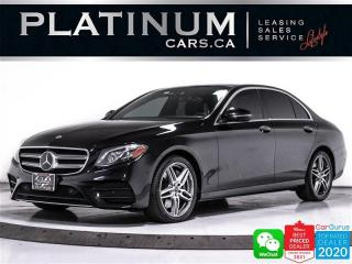 Used 2018 Mercedes-Benz E-Class E400 4MATIC, DISTRONIC PLUS, CARPLAY, HEATED, CAM for sale in Toronto, ON
