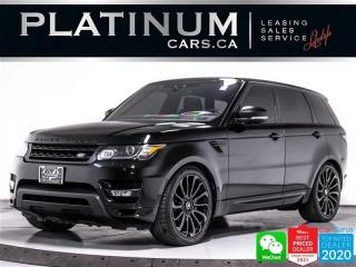 Used 2017 Land Rover Range Rover Sport Autobiography,5.0LV8,510HP,NAV,CAM,PANO,HUD, for sale in Toronto, ON