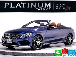 Used 2017 Mercedes-Benz C-Class AMG C43 4MATIC, CONVERTIBLE, DISTRONIC PLUS, NAV for sale in Toronto, ON