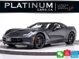Used 2019 Chevrolet Corvette STINGRAY Z51,2LT, 460HP, GT SEATS,PERF EXHAUST,NAV for sale in Toronto, ON