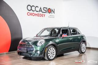 Used 2017 MINI Cooper Hardtop S+TOIT PANO+CUIR CHAUFFANT+REG DE VITESSE for sale in Laval, QC